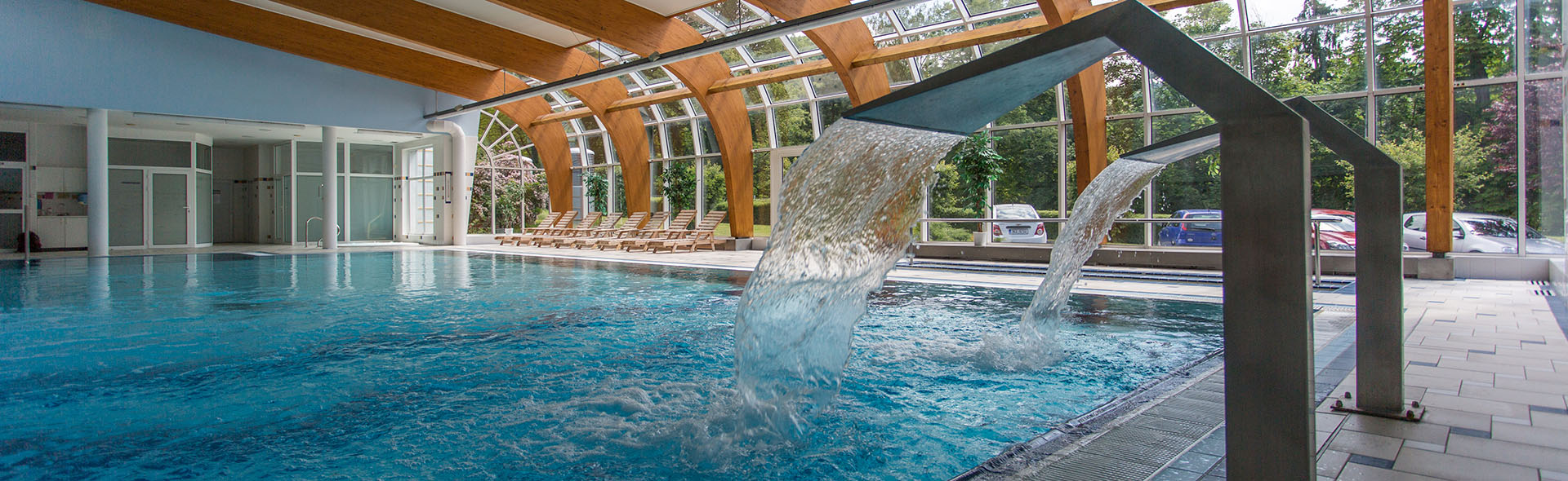 Bazény a jezírka